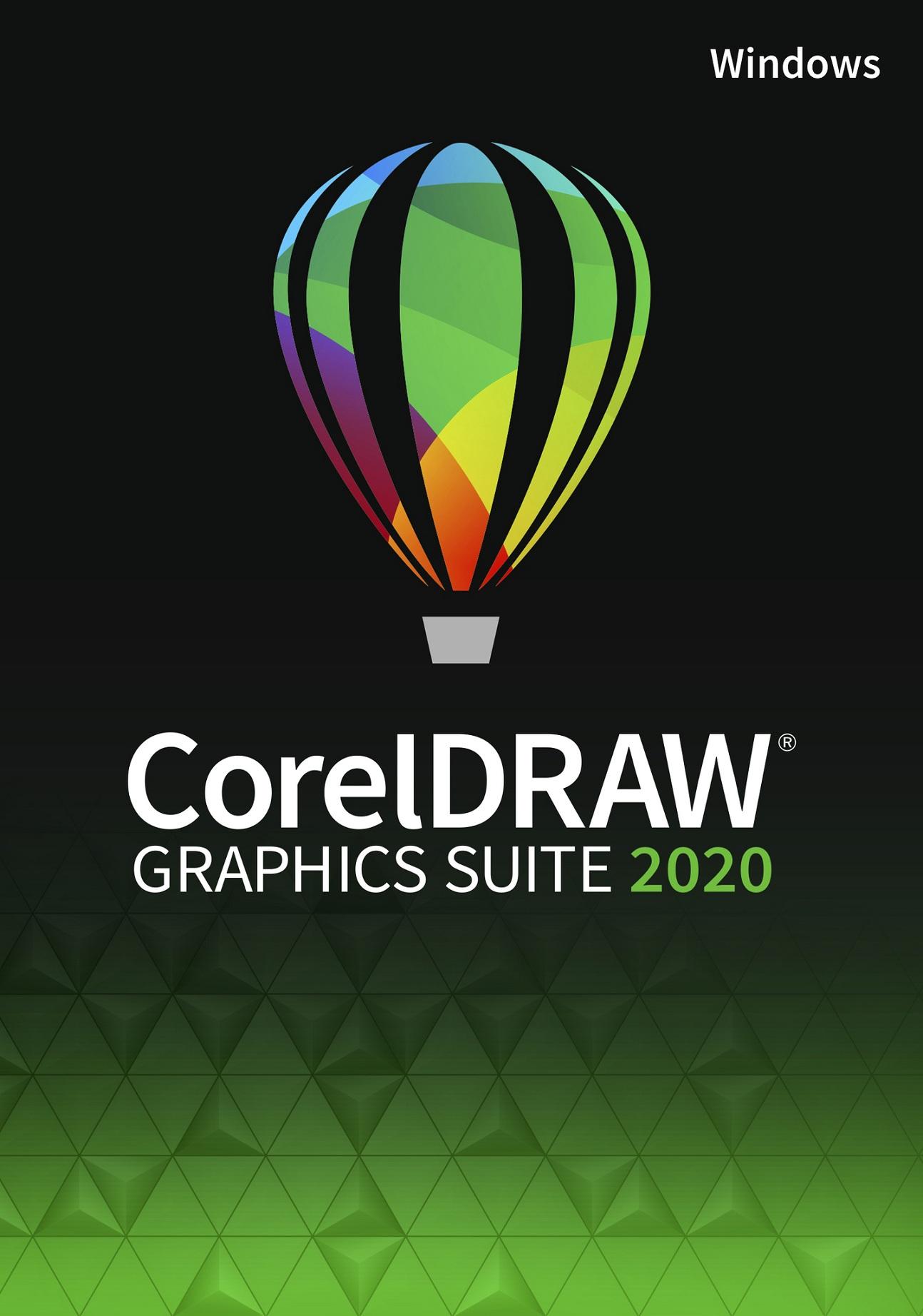 CorelDRAW Graphics Suite 2020 - ESDCDGS2020ROW