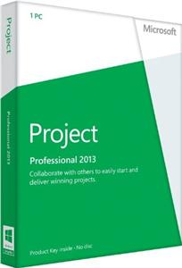 Project Pro 2013 32-bit/x64 Czech Medialess