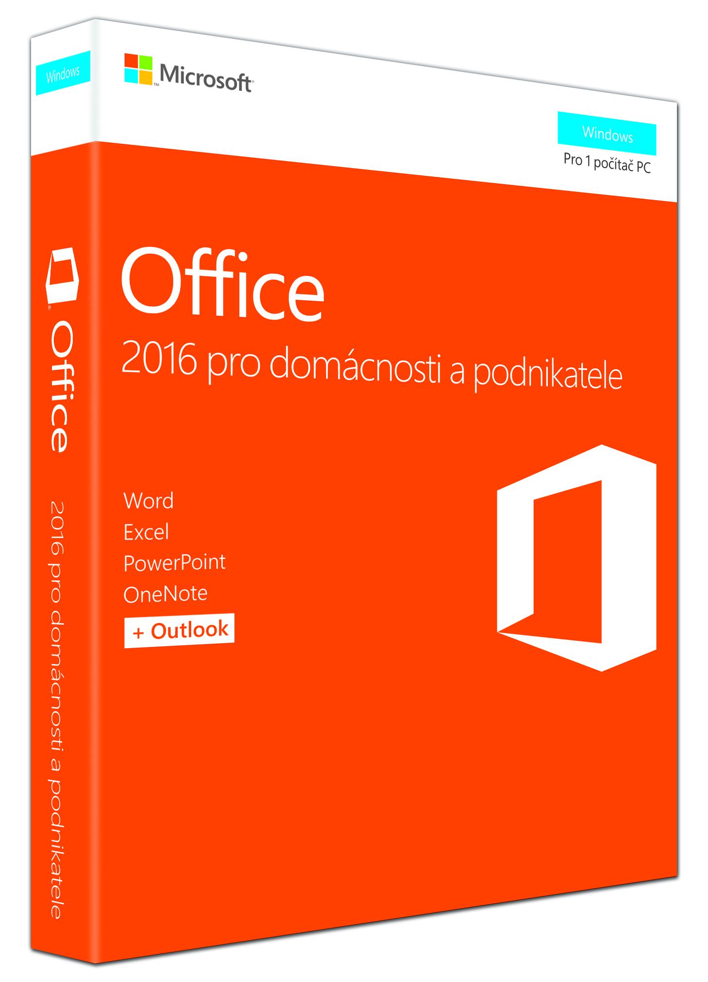 Office 2016 pro dom. a podnikatele CZ, P2