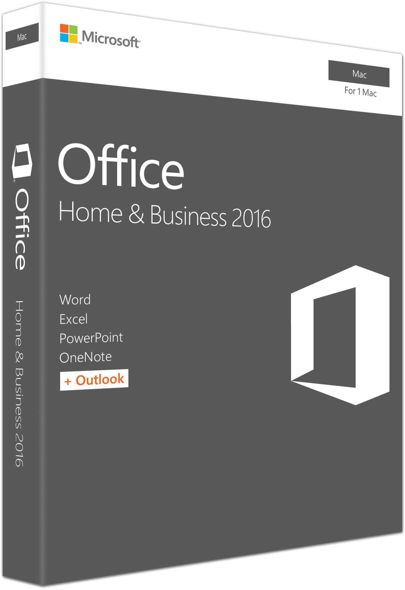 Office Mac 2016 pro domácn. a podnikatele Eng, P2