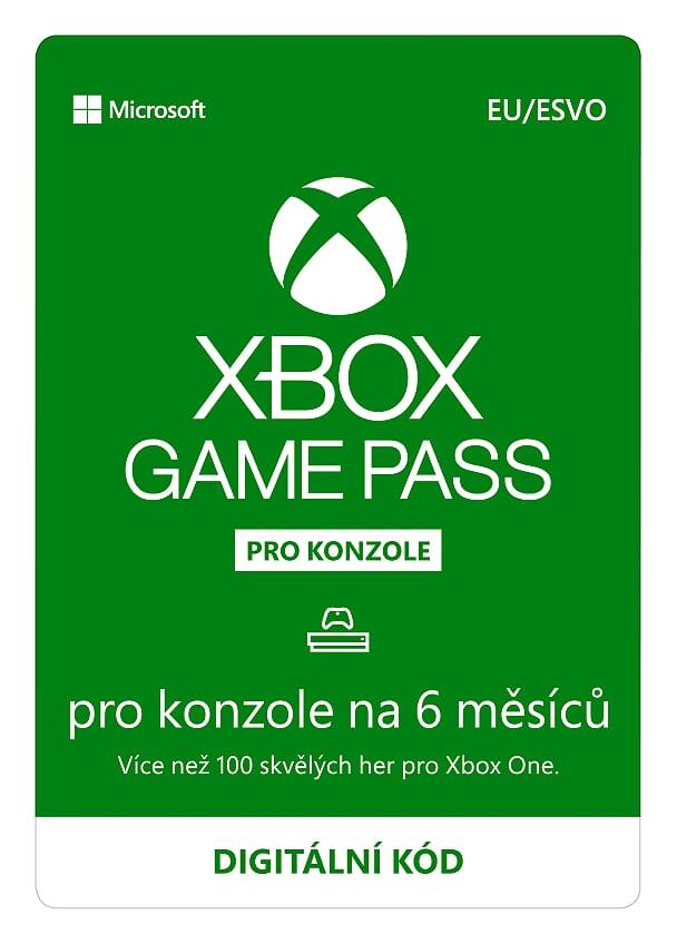 ESD XBOX - Game Pass Console - předplatné na 6 měsíců (EuroZone) - S3T-00004