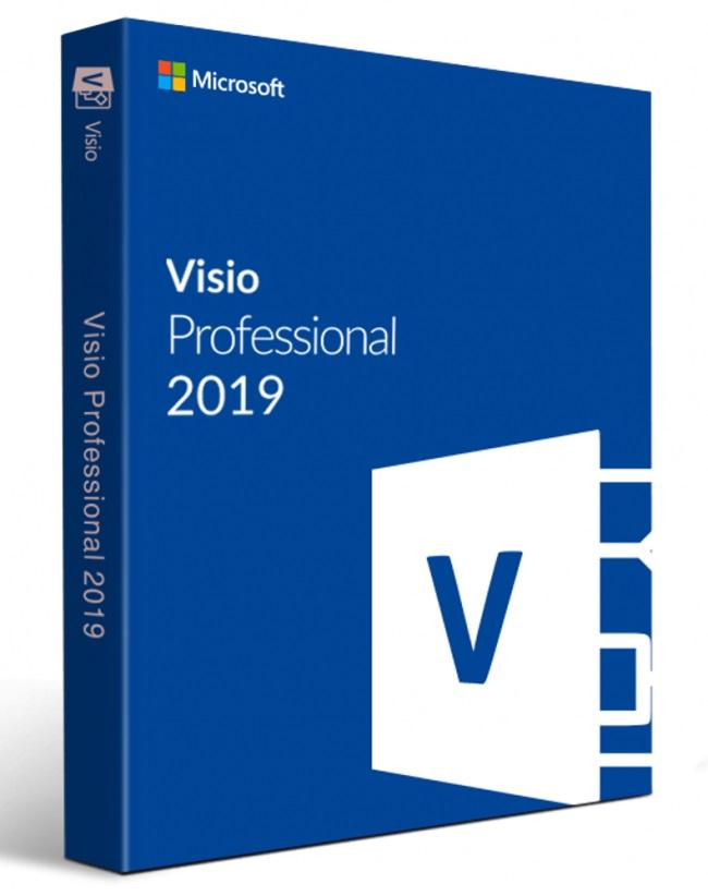 ESD Visio Pro 2019 All Languages - D87-07425