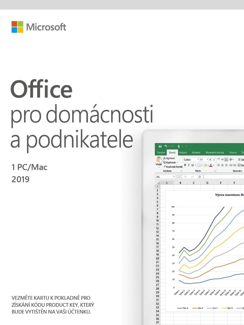 ESD Office 2019 pro domácnosti a podnikate All Lng - T5D-03183