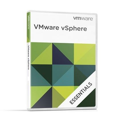 Academic VMware vSphere 6 Essentials Kit for 3 hosts (Max 2 processors per host)