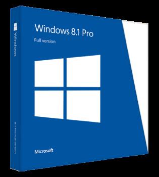 MS Win Pro 8.1 Win64bit Czech 1pk OEM DVD
