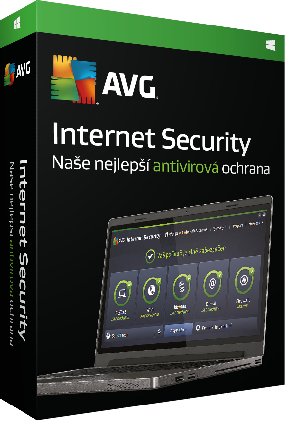 AVG Internet Security 2016, 3 lic. (36 měs.)