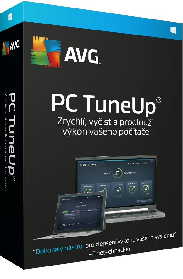 AVG PC TuneUp 3 lic. (24 měs.)