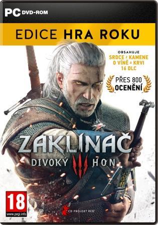 PC - Zaklínač 3: Divoký hon - Edice hra roku - 8595071033863