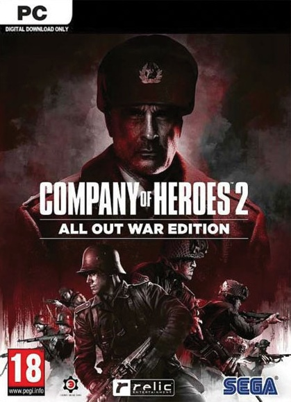 PC - Company of Heroes 2: All Out War Edition - 5055277039678