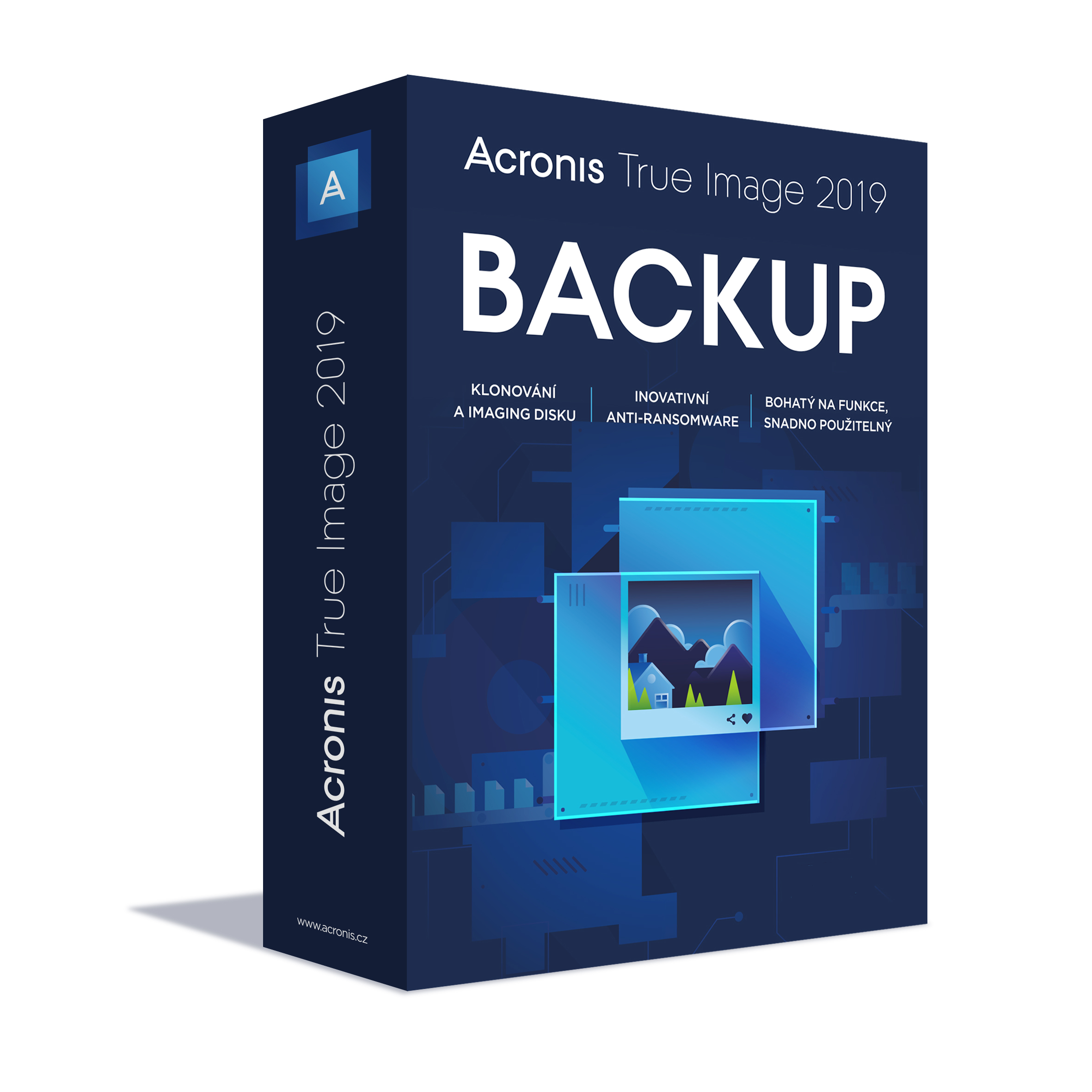 Acronis True Image 2019 - 1 Computer - BOX Upgrade
