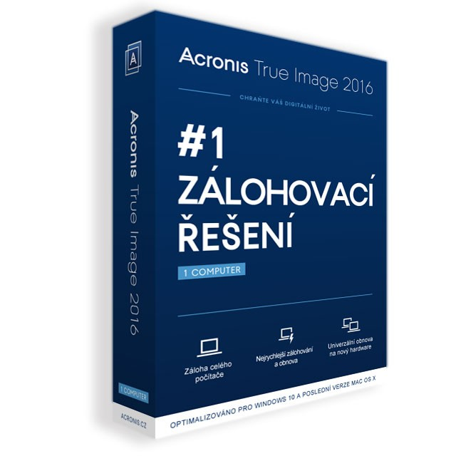 Acronis True Image Cloud - 1 Computer