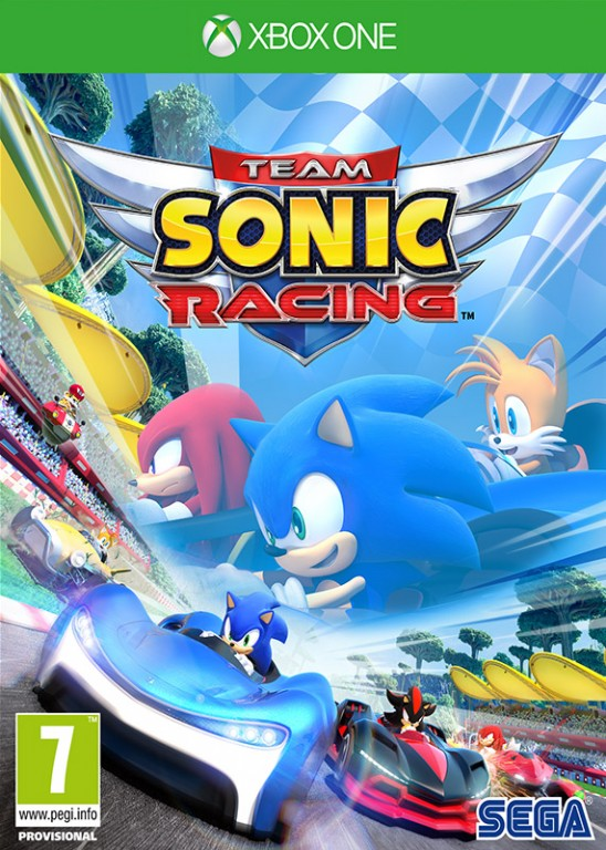 XOne - Team Sonic Racing - 5055277033775