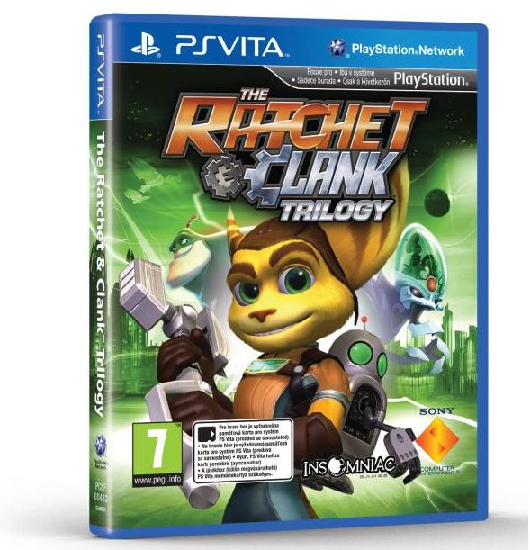 PS Vita - Ratchet & Clank Trilogy