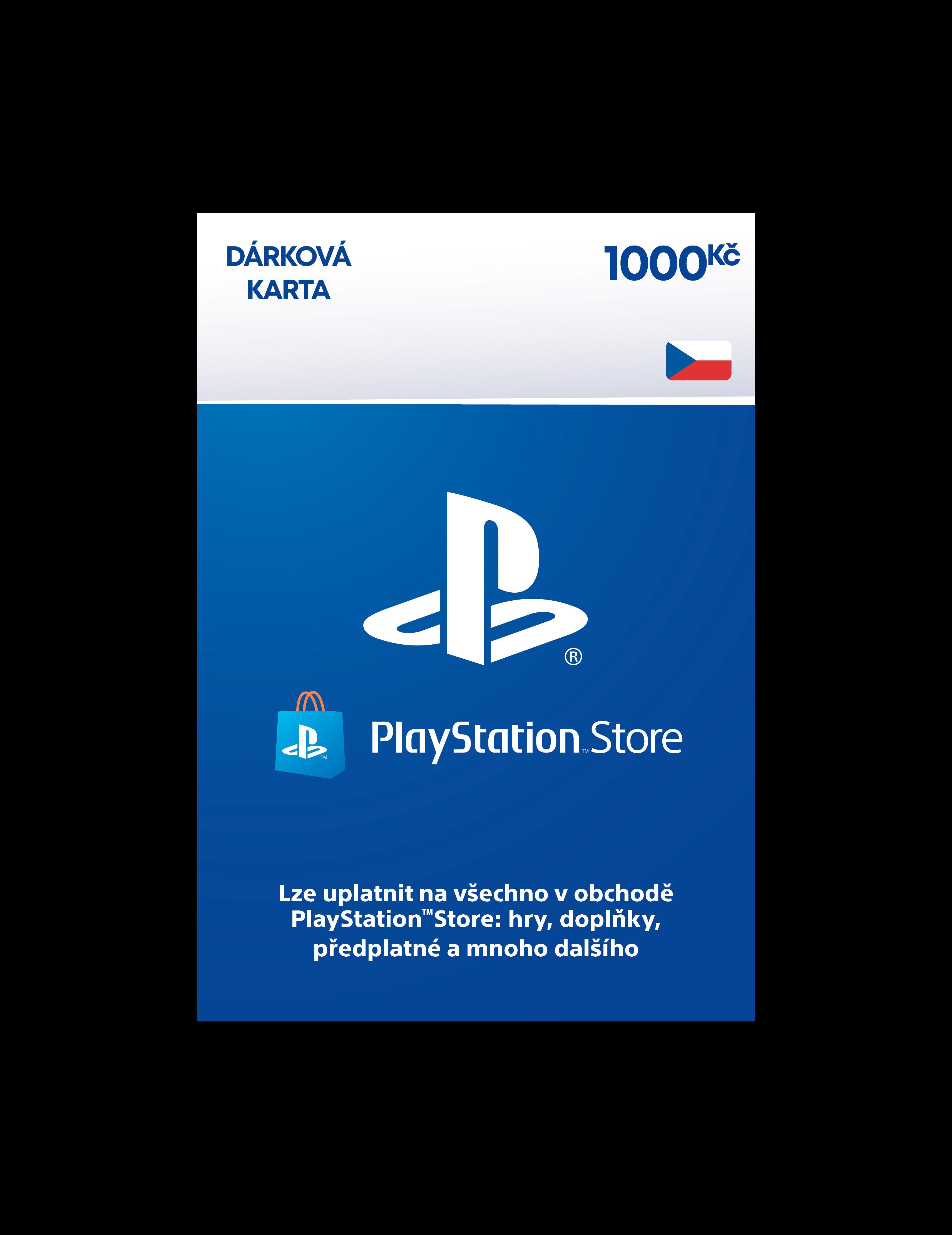 PlayStation Live Cards 1000Kč Hang - pouze pro CZ PS Store - PS719894032