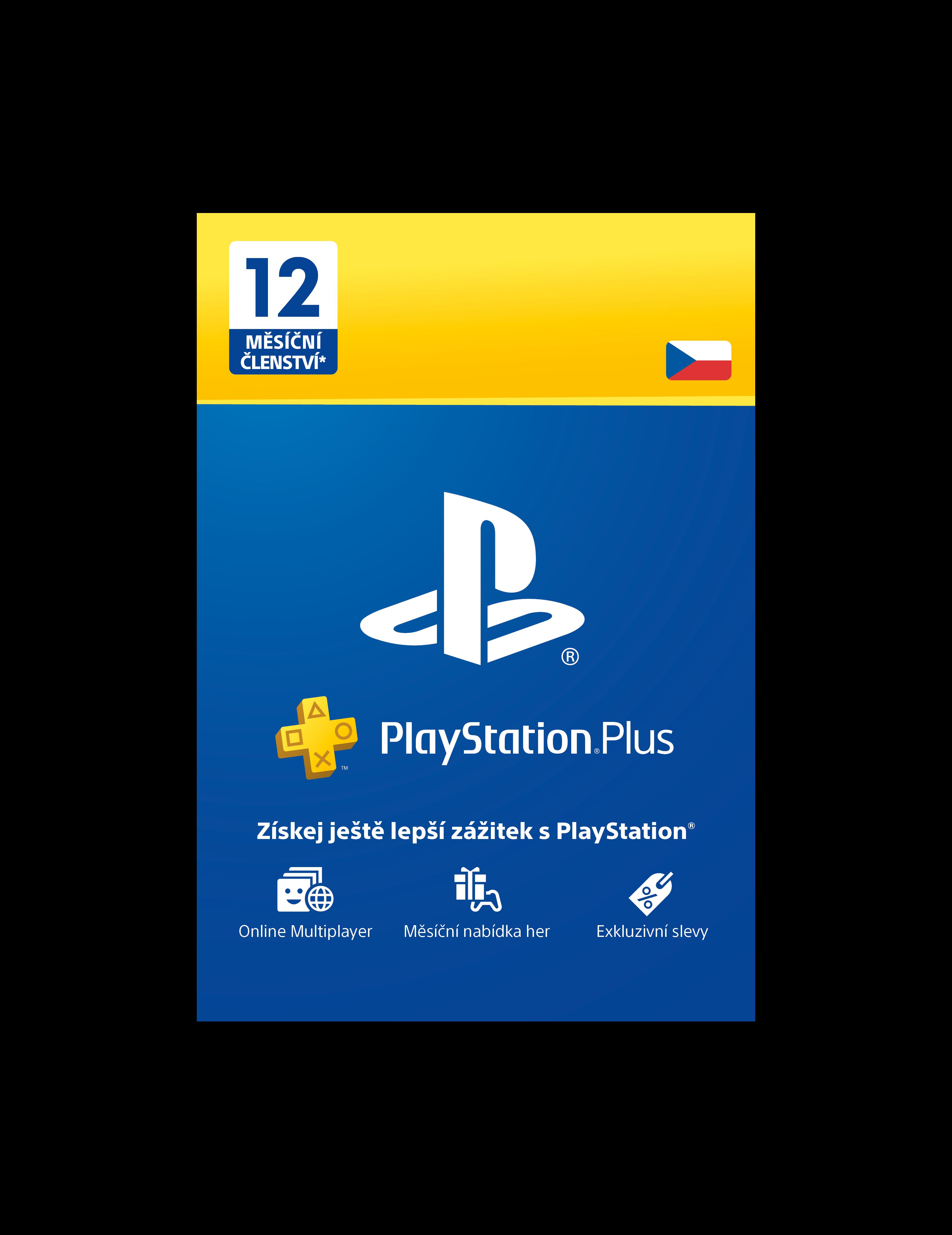 PlayStation Plus Card Hang 365 Days - pouze pro CZ PS Store - PS719807346