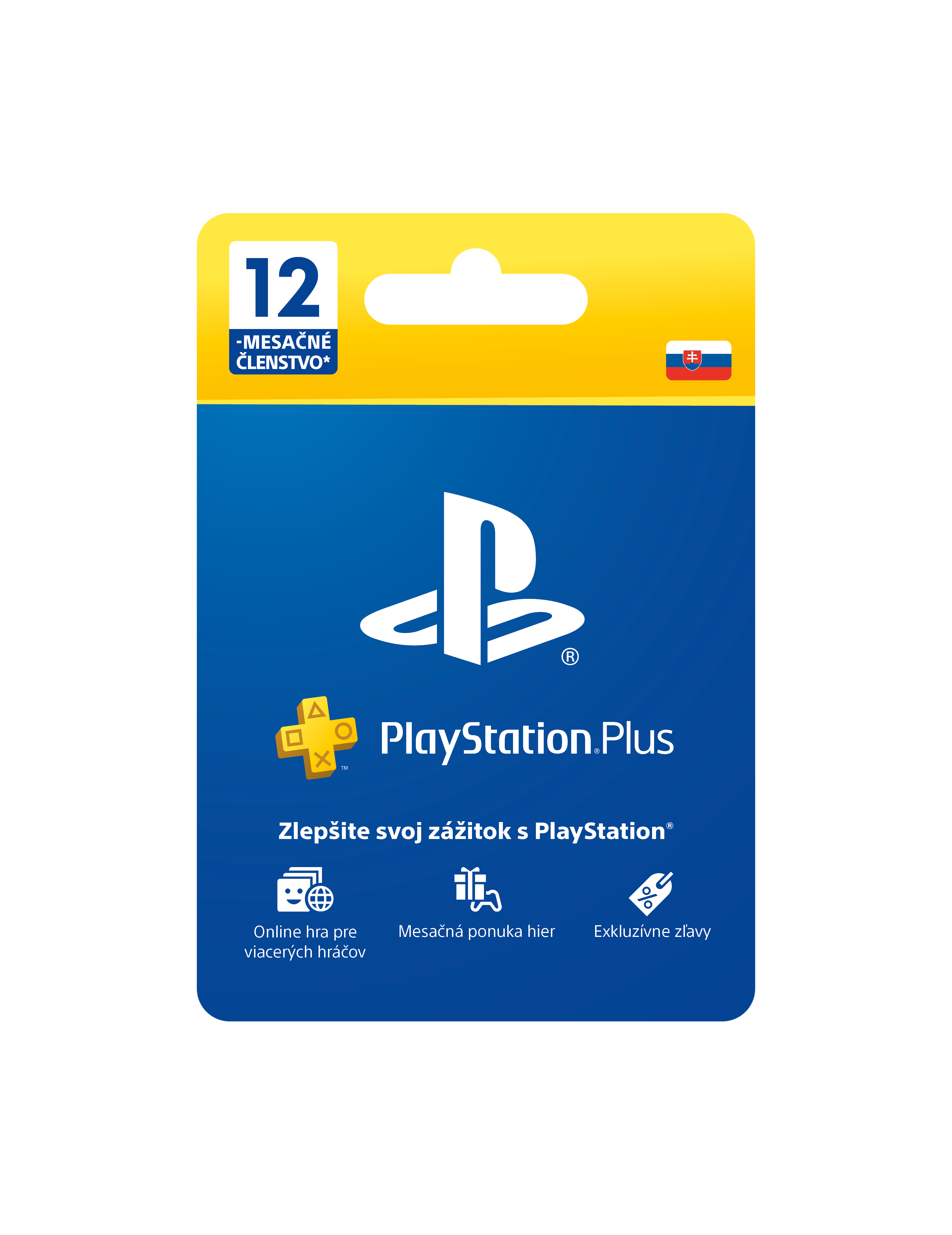 PlayStation Plus Card Hang 365 Day pro SK PS Store - PS719800552