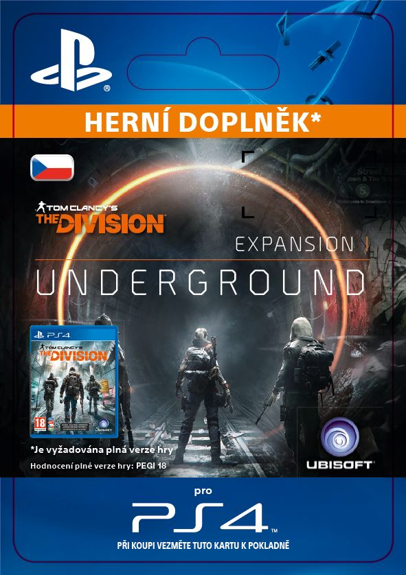 ESD CZ PS4 - TOM CLANCY'S THE DIVISION Underground - SCEE-XX-S0026150