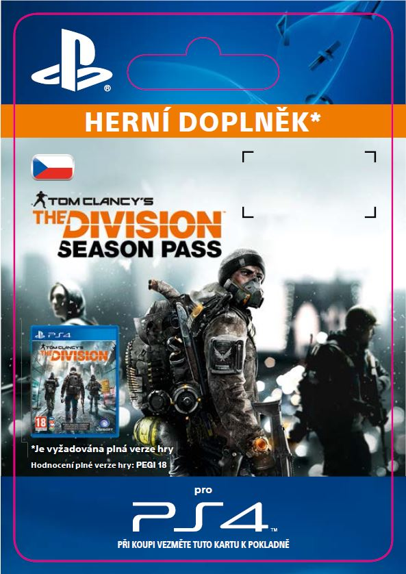 ESD CZ PS4 - Tom Clancy's The Division - Season Pa - SCEE-XX-S0023677
