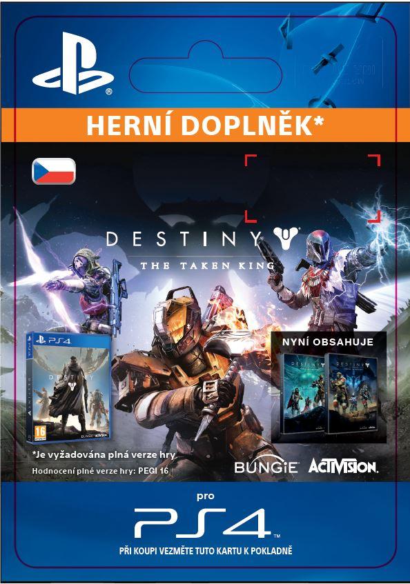 ESD CZ PS4 - Destiny: The Taken King - SCEE-XX-S0023345
