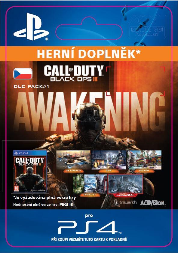 ESD CZ PS4 - Call of Duty®: Black Ops III Awekinin - SCEE-XX-S0023264