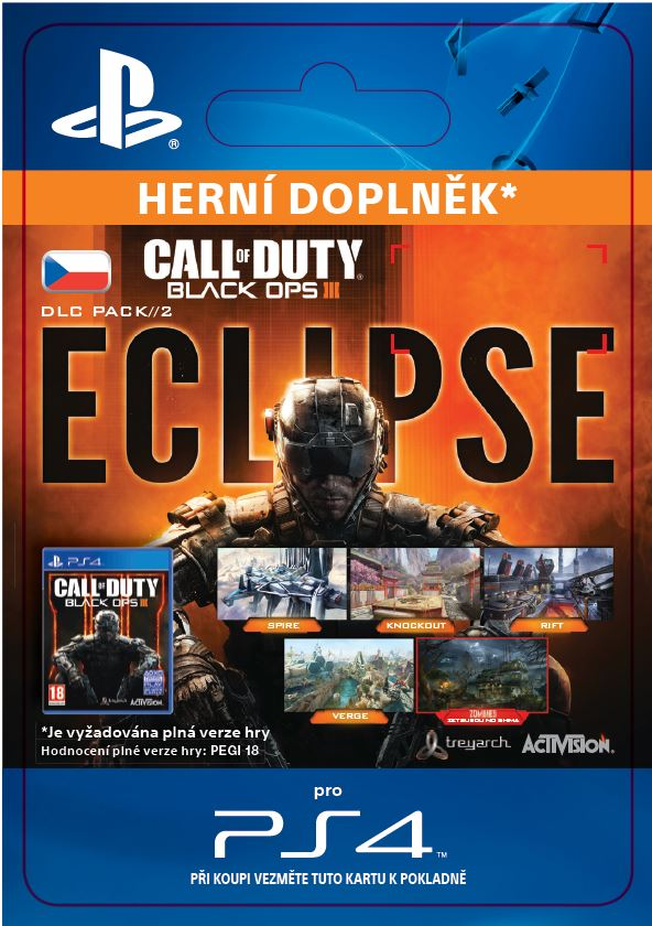 ESD CZ PS4 - Call of Duty®: Black Ops III Eclipse - SCEE-XX-S0024774