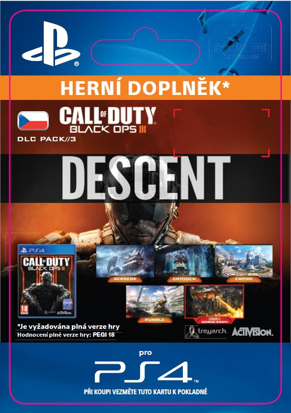 ESD CZ PS4 - Call of Duty®: Black Ops III Descent - SCEE-XX-S0025813