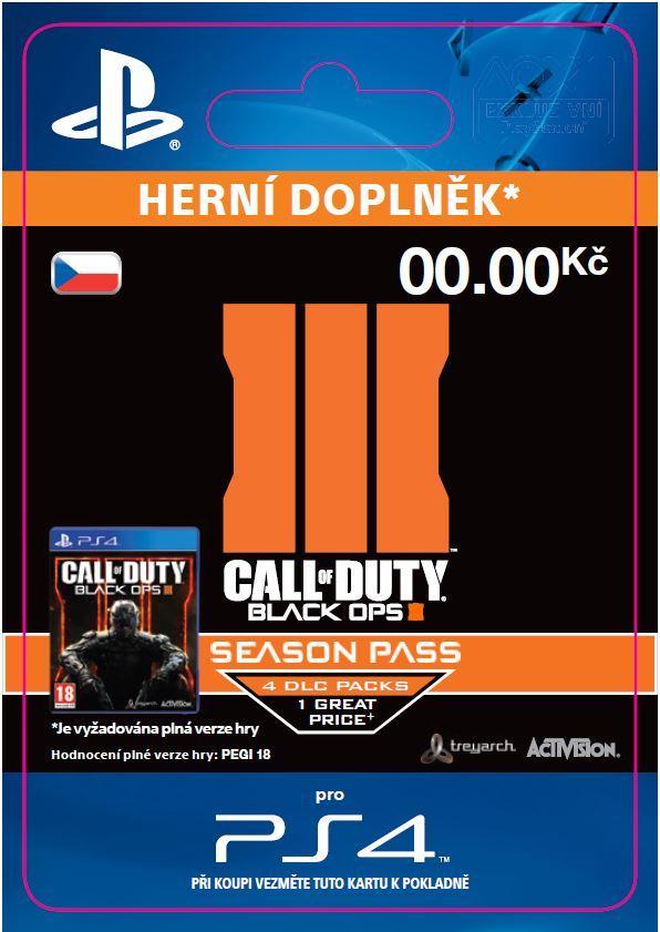 ESD CZ PS4 - Call of Duty®: Black Ops III Season P - SCEE-XX-S0022206