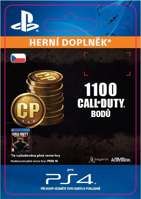 ESD CZ PS4 - 1,000 (+100 Bonus) Call of Duty Point - SCEE-XX-S0023007