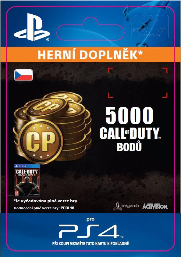 ESD CZ PS4 - 4,000 (+1,000 Bonus) Call of Duty Poi - SCEE-XX-S0023029