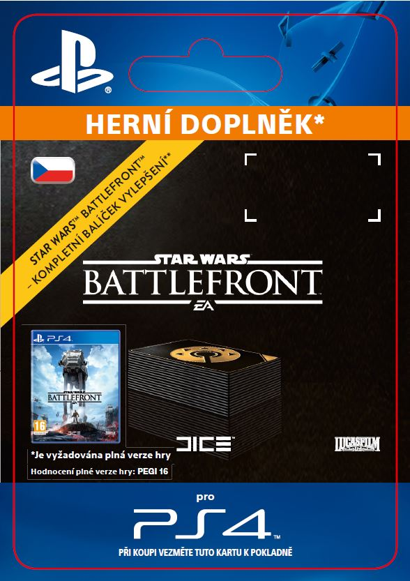 ESD CZ PS4 - STAR WARS Battlefront Ultimate UP - SCEE-XX-S0024538
