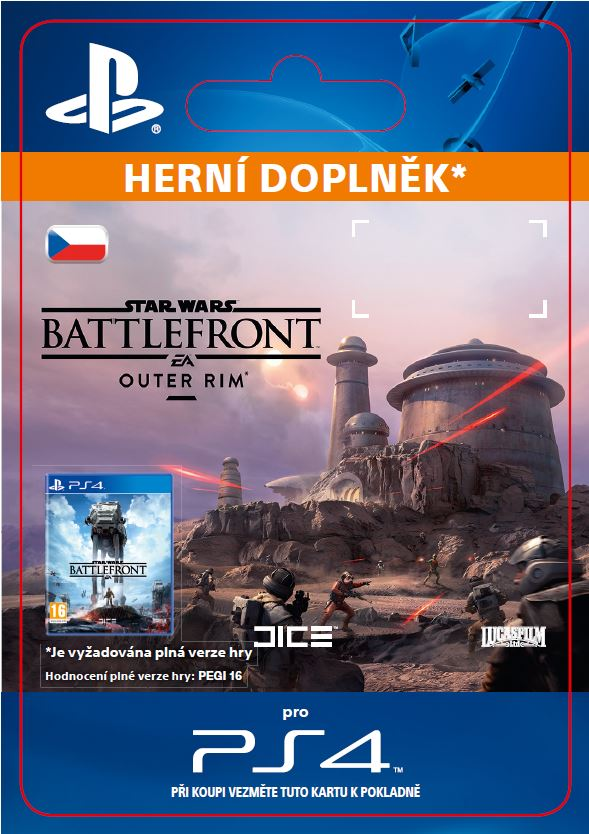 ESD CZ PS4 - STAR WARS Battlefront Outer Rim - SCEE-XX-S0024413