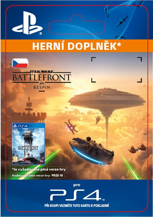 ESD CZ PS4 - STAR WARS Battlefront Bespin - SCEE-XX-S0025544