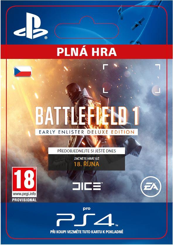 ESD CZ PS4 - Battlefield 1 Early Enlister DE