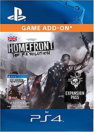ESD CZ PS4 - Homefront®: The Revolution Expansion Pass