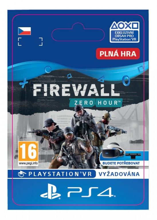 ESD CZ PS4 -  Firewall Zero Hour™ - SCEE-XX-S0039613