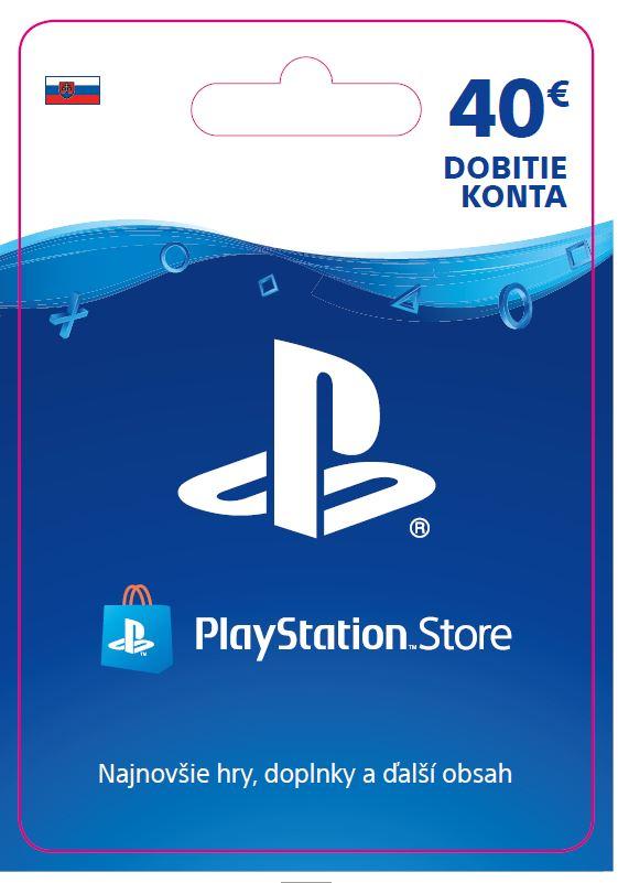 ESD SK - PS Store el. peněženka - 40 EUR