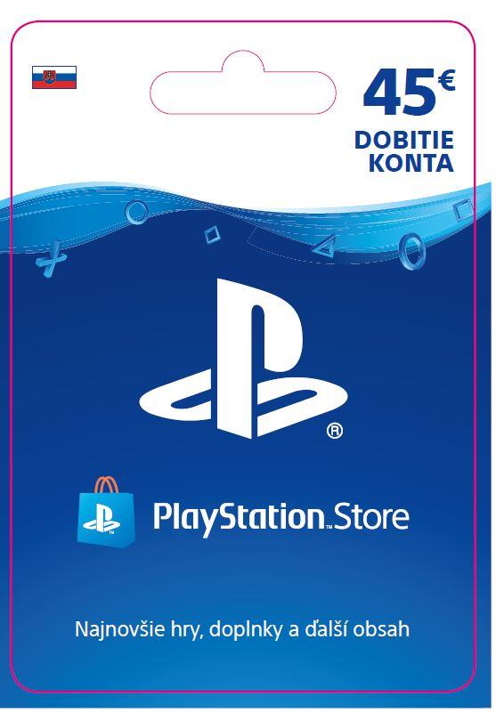 ESD SK - PS Store el. peněženka - 45 EUR