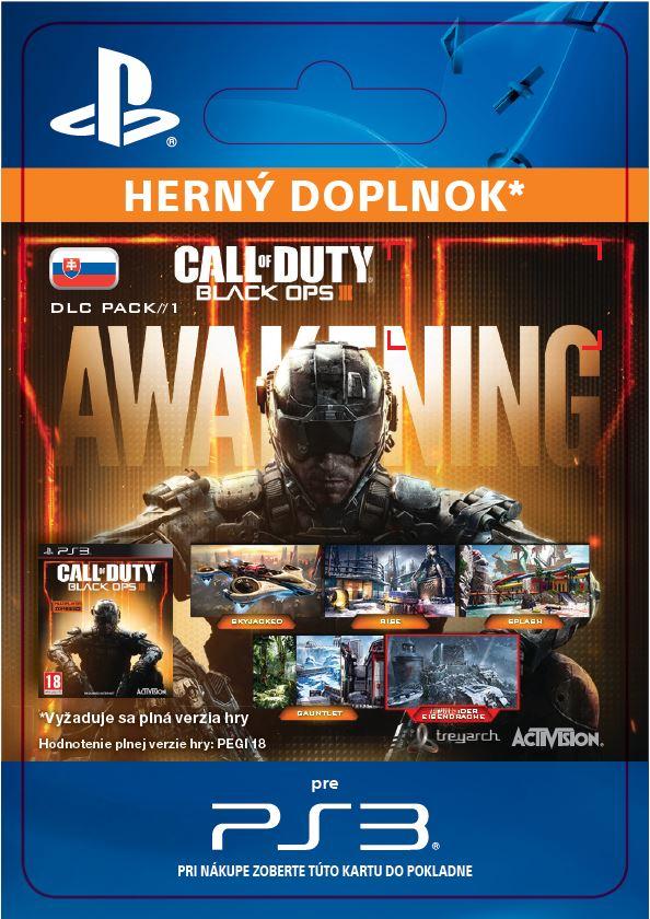 ESD SK PS3 - Call of Duty®: Black Ops III - Awakening DLC