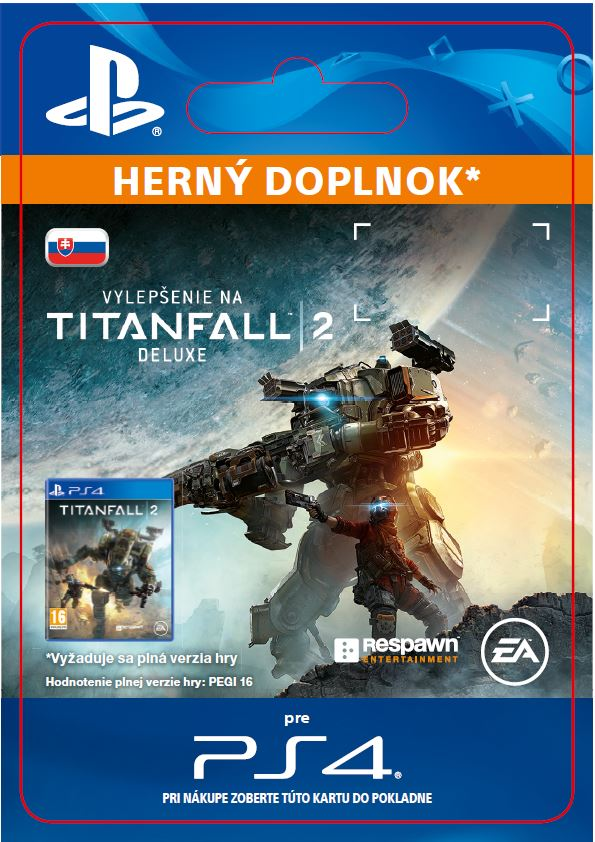 ESD SK PS4 - Titanfall 2 Deluxe Edition Content