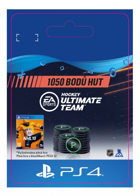 ESD SK PS4 - 1050 NHL™ 19 Points Pack