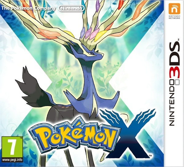 3DS - Pokemon X