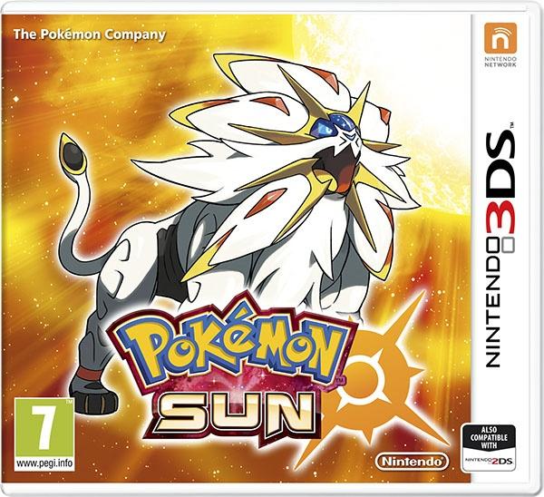 3DS - Pokémon Sun