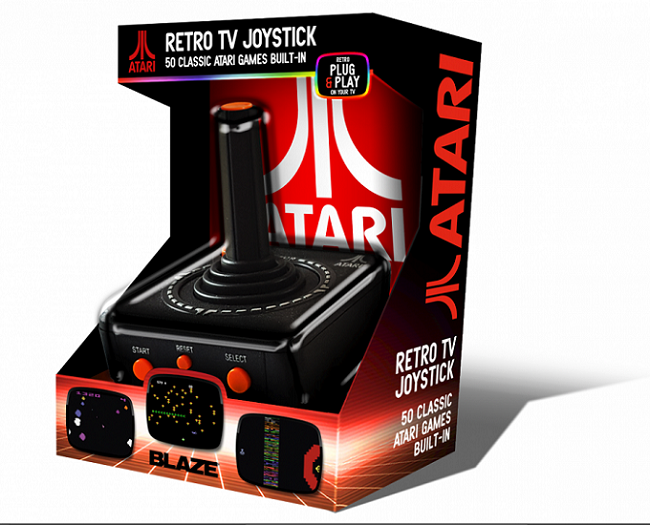 Atari 'Retro' TV Plug and Play Joystick