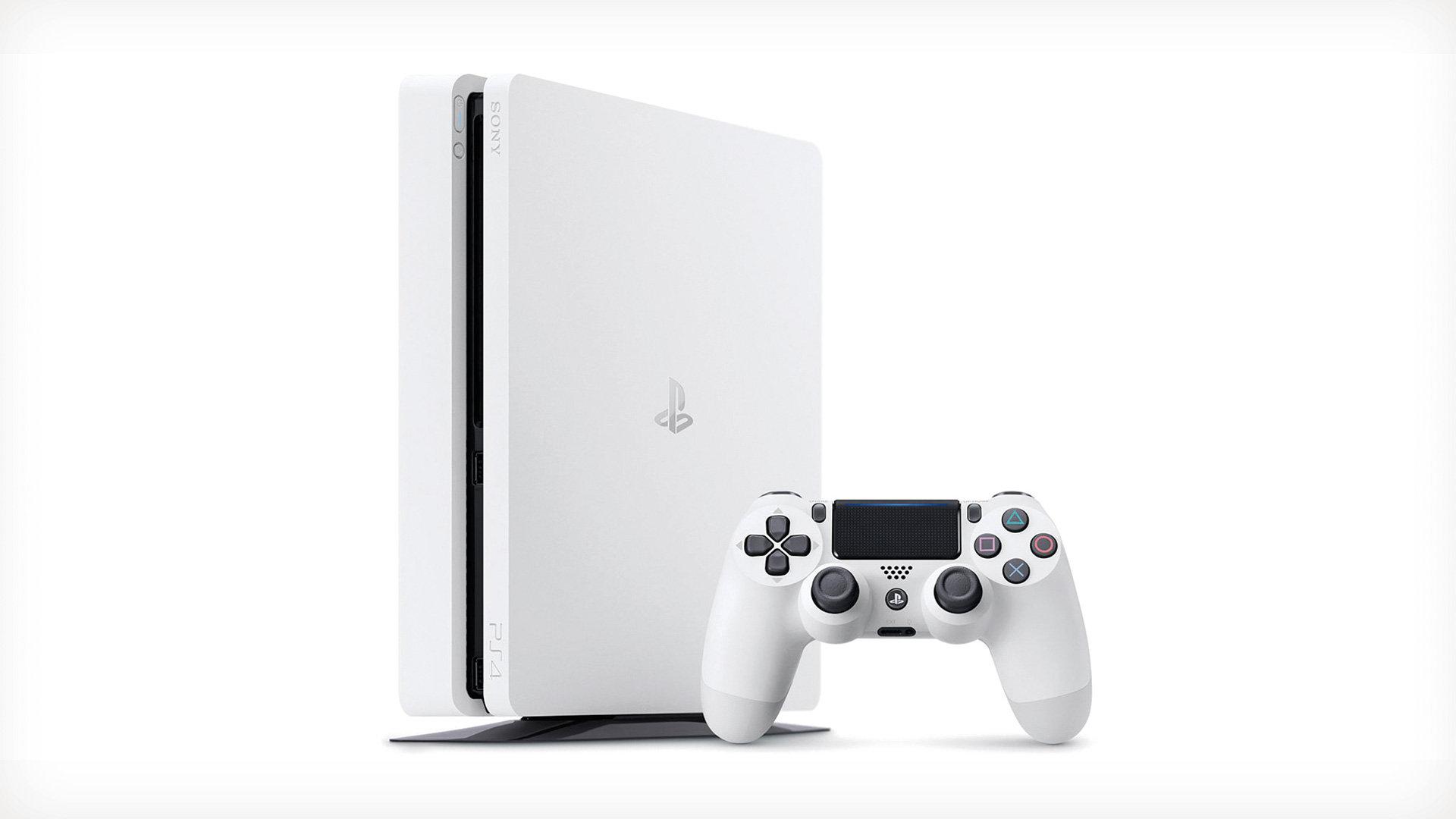 PS4 - Playstation 4 500GB E white slim