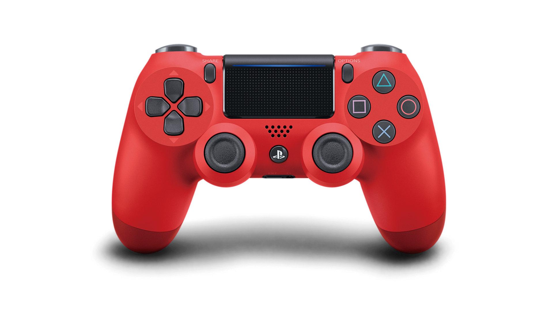 PS4 - DualShock 4 Controller RED v2