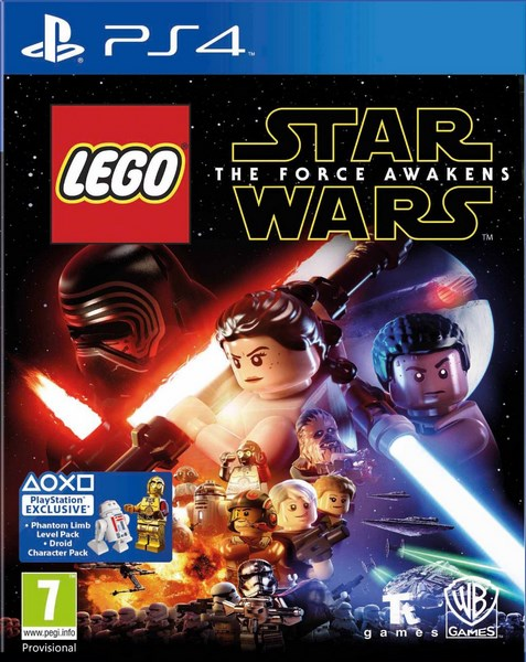 PS4 -  Lego Star Wars: The Force Awakens - 5051892199056