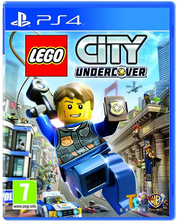 PS4 - Lego City Undercover - 5051892207096