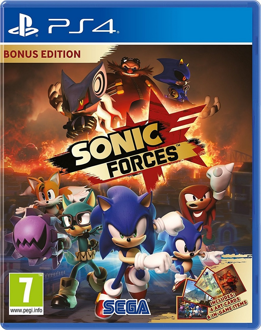 PS4 - Sonic Forces - 5055277029884