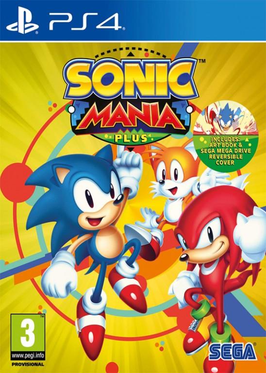 PS4 - Sonic Mania Plus - 5055277031740