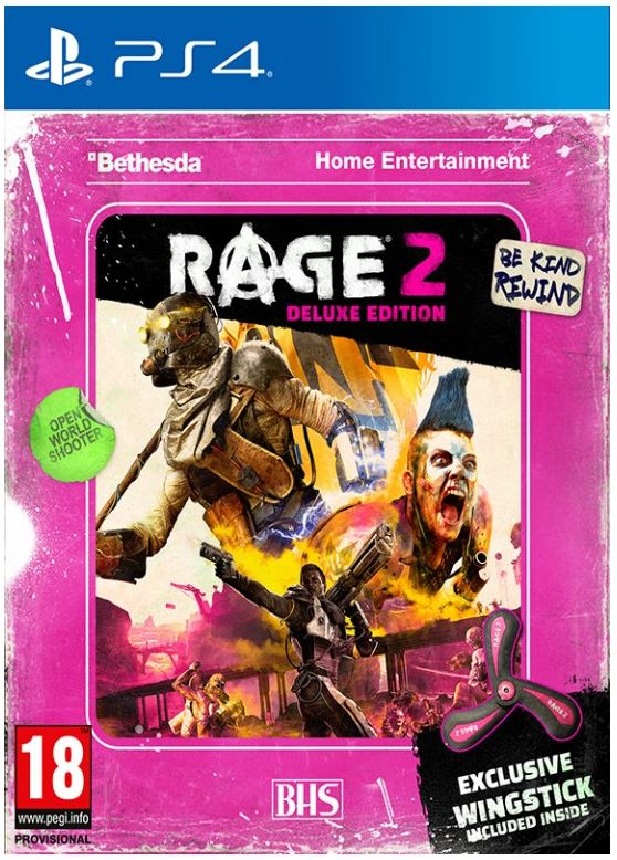 PS4 - Rage 2 Wingstick Deluxe Edition